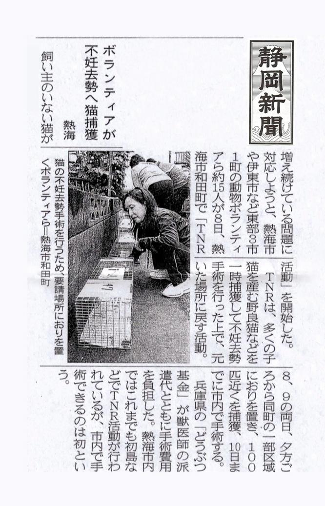 静岡新聞 朝刊 2013年11月10日